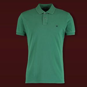 Genuine FERRANTE - Men's Green - Stretch Cotton Polo T-Shirt Top   UK L / EU52