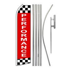 New listing Performance Super Flag Kit Swooper Feather - Mechanic - Automotive