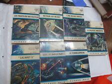 Lot de 7 Livres Fleuve Noir Anticipation (Rayjean,Clauzel,Le May,Murcie,Arnaud