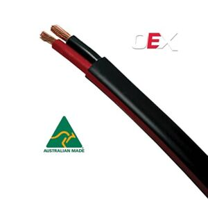Automotive Twin Sheath Cable, Black / Red 2mm, 3mm, 4mm, 5mm, 6mm