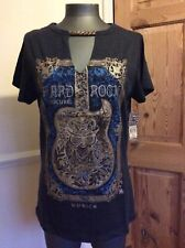 "BNWT LADIES HARD ROCK CAFE MUNICH ""FRAMED GUITAR"" T SHIRT SIZE SMALL RRP €32.95"