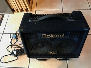 Roland KC-110 keyboard amp, good condition, 3 channels, stereo, battery or mains