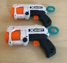 Two Zuru X-Shot Toy Dart Guns