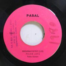 50'S & 60'S 45 Pasal - Marianna Foxtrot / Wdowiec On Al Pas Rec. Co