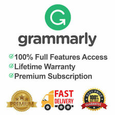 Grammarly Premium Lifetime Account | INSTANT DELIVERY | 100% Guaranteed