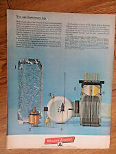 1962 Bell Western Telephone Ad Quartz Crystal Electron Tube Transistors Diode