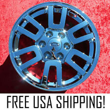 "Set of 4 Chrome 18"" Ford Expedition OEM Factory Wheels Rims F-150 Navigator 3657"