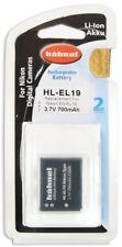 Hähnel HL EL19 3,7V 700 mAh Ersatzakku Typ Nikon EN-EL19 für Coolpix