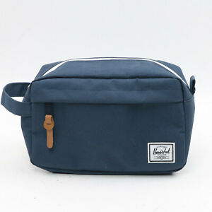 Herschel Chapter Travel Kit Toiletry Bag Navy Blue