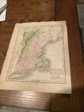 New Listing1829 colored map of Eastern States D. R. Richardson