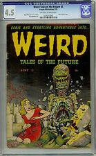 Weird Tales of the Future 3 CGC 4.5 Gold Age Key Pre Code Horror PCH Comic L@@K