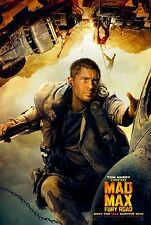 Mad Max Fury Road (2015) Movie Poster (24x36) - Tom Hardy, Charlize Theron v2