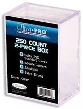 Ultra Pro Card Supplies Clear Deck Box [250 ct]