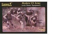 Moderno del ejército de Estados Unidos (con equipo) - Caesar Miniatures del desierto H030-escala 1/72