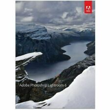 Adobe Photoshop Lightroom 6 (Retail (License + Media)) - Full Version for Mac, Windows 65237578