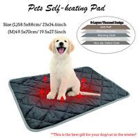 Hundebett Selbstheizende Decke für Katzen Hunde Wärmematte Haustier Katzendecke