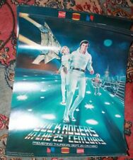 Buck Rogers in 25th Century Burger King Advertising Movie Poster 1979 Coca-Cola
