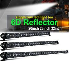Slim Led Light Bar Combo Beams For 4x4 Offroad SUV 4WD ATV Driving Work Lights