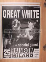 GREAT WHITE 25-01-1994 MILANO 100X70 POSTER CONCERTO [MM 0655-A]
