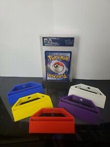 PSA Graded Card Stand 3D Printed. Pokemon, Yugioh, MTG, Sports