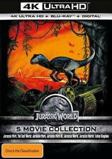JURASSIC WORLD 5 MOVIE COLLECTION 4K UHD ULTRA HD **HDR** BLU RAY==BRAND NEW==