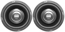 Earthquake Sound SWS-6.5X 6.5-inch Shallow Woofer System Subwoofers, 4-Ohm, Pair