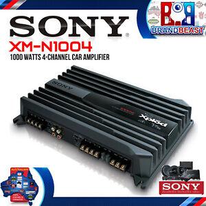Sony XM-N1004 1000W 4 Channel Stereo Amplifier