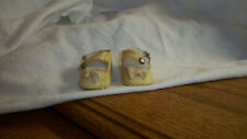 OILCLOTH DOLL SHOES MADAME ALEXANDER EFFANBEE ARRANBEE OR AMERICAN CHARACTER