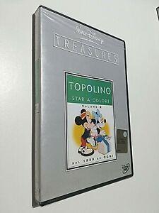 TOPOLINO STAR A COLORI VOLUME 2 -  DVD DISNEY TREASURES