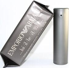 Emporio Armani by Giorgio Armani Eau De Toilette 3.4/3.3 oz 100 ml for Men New