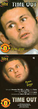 FUTERA 1998 MANCHESTER UNITED RYAN GIGGS TIME OUT CARD NUMBER 41