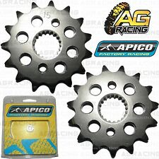 Apico Front Sprocket 15T Teeth Tooth 420 Pitch For Honda CRF 150R 2007-2014 New