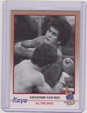 (100) 1991 Kayo Salvatore Sanchez Boxen Karten #16 ~ saniago tianguistenco MEX