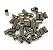 stainless steel crimp bead tubes 3mm long x 2mm wide