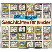 Die 30 Besten Geschichten Für Kinder (Hörbuch) CD NEU OVP