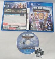 Toy Soldiers War Chest Hall of Fame Edition PlayStation 4 PS4 TESTED DISC CIB