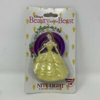 Vintage Disney Beauty and the Beast Beast Nite Light BEAST Dancing Belle NEW