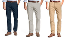 Tommy Hilfiger Men's Tailored Fit Flat Front Chino Pants