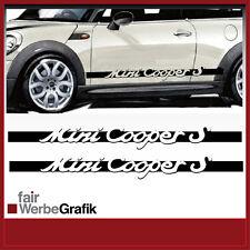 Aufkleber /  Sticker / Seitenbeschriftung / Dekor / Mini Cooper / #057