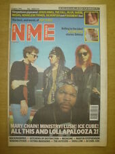 NME 1992 AUG 1 MARY CHAIN LUSH ICE CUBE THE FALL BLUR