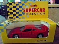MAISTO SUPERCAR COLLECTION  - FERRARI F40 - NEW IN BOX