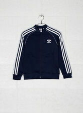 Adidas J SST Maglia a Zip Bambino Collegiate Navy 11/12 Sport
