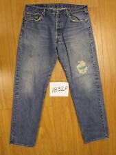 Destroyed levis 501 feathered jean used tag 38x34 1832F
