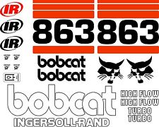 863 A Replacement decals decal kit / sticker set skid loader steer fits bobcat