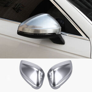 For Audi A4 B9 A5 17-20 2pcs Chrome Car Side Wing Rear-view Mirror Cover Trim