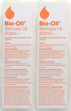 2x Bio Oil Skincare Oil 200ml for Scars and Stretch Marks