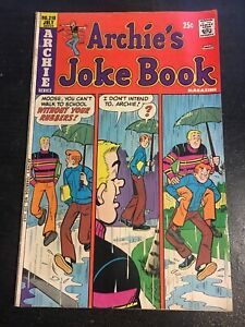 Archie's Joke Book#210 Awesome Condition 6.5(1975) Moose Cover