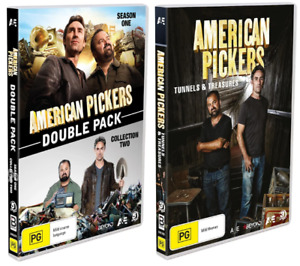 American Pickers: Double Pack & Tunnels & Treasures - 8 Dvds / PAL