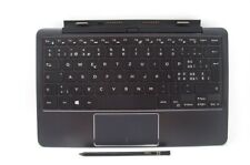 Dell Latitude 11 5175 5179 K12M Keyboard Battery SWISS Layout Active Stylus
