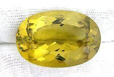 54.70 Carat Oval Brazilian Rich Color Oro De Verde Citrine Gem Gemstone EBS1701